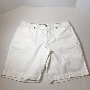 Lee White Shorts